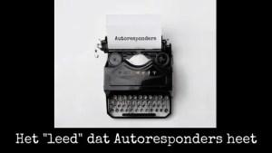 Autoresponders
