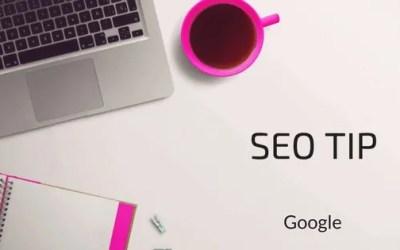 SEO Tip – Gij zult google niet belazeren