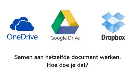Samen aan hetzelfde document werken. Hoe doe je dat?