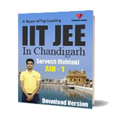 Download pdf notes of Best IIT JEE Engineering Exam Coaching in Chandigarh