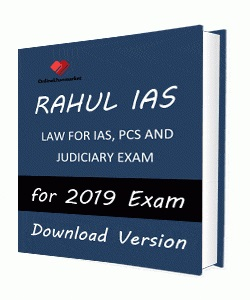 Rahul IAS Law Printed Notes