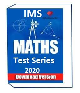 IMS Maths Optional Test Series 2020