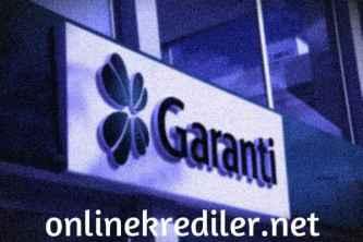garanti online kredi