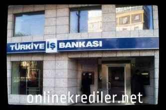 iş bankası online kredi