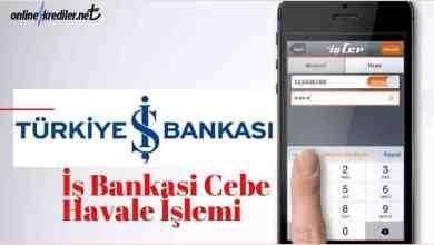 Photo of İş Bankası Cebe Havale İşlemi Detaylı Anlatım