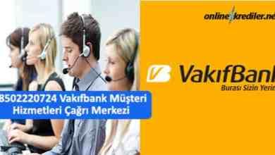 Photo of 08502220724 Vakıfbank Müşteri Hizmetleri Çağrı Merkezi