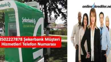 Photo of 08502227878 Şekerbank Müşteri Hizmetleri Telefon Numarası