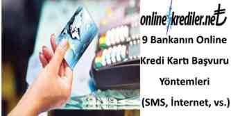 internetten online kredi kartı başvurusu