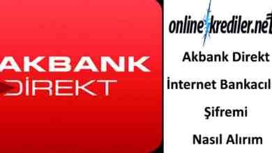 Photo of Akbank Direkt İnternet Bankacılığı Şifremi Nasıl Alırım