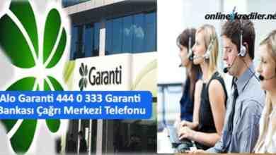 Photo of Alo Garanti 444 0 333 Garanti Bankası Çağrı Merkezi Telefonu