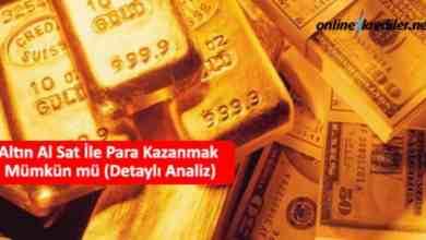 Photo of Altın Al Sat İle Para Kazanmak Mümkün mü (Detaylı Analiz)