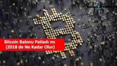 Photo of Bitcoin Balonu Patladı mı (2021 de Ne Kadar Olur)
