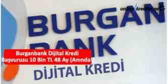burganbank dijital kredi basvurusu