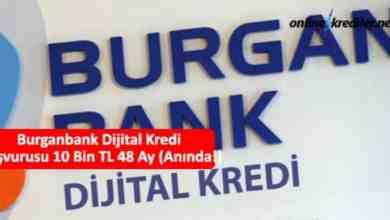 Photo of Burganbank Dijital Kredi Başvurusu 10 Bin TL 60 Ay (Anında!)