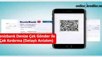 Photo of Denizbank Denize Çek Gönder ile Çek Kırdırma