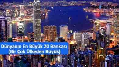 Photo of Dünyanın En Büyük 20 Bankası (Bir Çok Ülkeden Büyük)