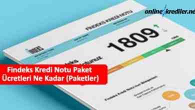 Photo of Findeks Kredi Notu Paket Ücretleri Ne Kadar (Paketler)