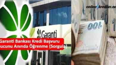 Photo of Garanti Bankası Kredi Başvuru Sonucunu Anında Öğrenme (Sorgula)