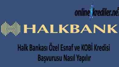 Photo of Halk Bankası Özel Esnaf KOBİ Kredisi Başvurusu Nasıl Yapılır
