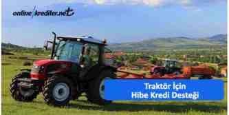 traktör hibe desteği