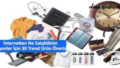 Photo of İnternetten Ne Satabilirim Diyenler İçin 30 Trend Ürün Önerisi