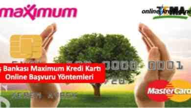 Photo of İş Bankası Maximum Kredi Kartı Online Başvuru Yöntemleri