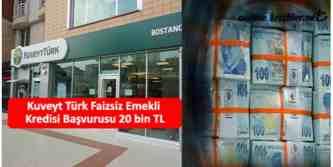 faizsiz emekli kredisi kuveyt türk
