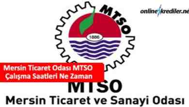 Photo of Mersin Ticaret Odası MTSO Çalışma Saatleri Ne Zaman