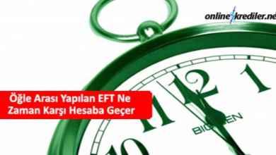 Photo of Öğle Arası Yapılan EFT Ne Zaman Karşı Hesaba Geçer