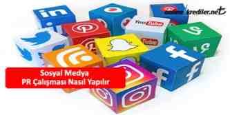 sosyal medya pr calismasi