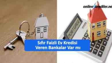 Photo of Sıfır Faizli Ev Kredisi Veren Bankalar Var mı