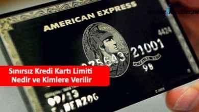 Photo of Sınırsız Kredi Kartı Limiti Nedir ve Kimlere Verilir