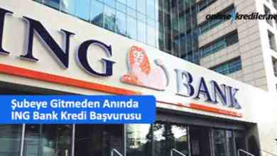Photo of Şubeye Gitmeden Anında ING Bank Kredi Başvurusu