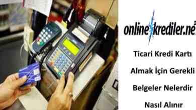 Photo of Ticari Kredi Kartı Almak İçin Süreç ve Gerekli Belgeler