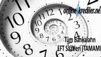 Photo of Bankaların EFT Saatleri İçin Detaylı Tablo (Tüm Bankalar Tek Başlık)
