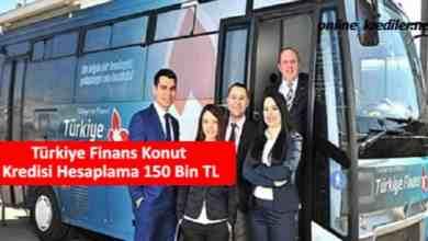 Photo of Türkiye Finans Konut Kredisi Hesaplama 150 Bin TL
