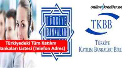 Photo of Türkiyedeki Tüm Katılım Bankaları Listesi (Telefon Adres)