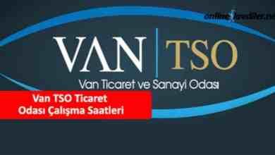 Photo of Van TSO Ticaret Odası Çalışma Saatleri