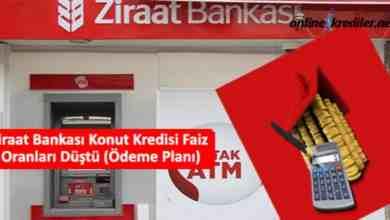 Photo of Ziraat Bankası Konut Kredisi Faiz Oranları Düştü (Ödeme Planı)
