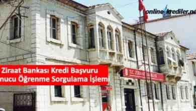 Photo of Ziraat Bankası Kredi Başvuru Sonucu Öğrenme Sorgulama İşlemi