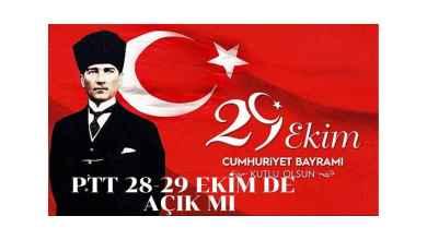 Photo of 28-29 Ekim de PTT Şubeleri ve PTT Kargo Açık mı