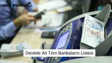 Photo of Devlete Ait Tüm Bankaların Listesi
