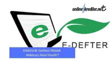 Photo of Elektronik Serbest Meslek Makbuzu Nasıl Kesilir?