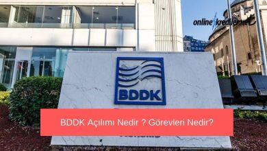 Photo of BDDK Açılımı Nedir ? Görevleri Nelerdir ?