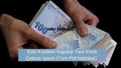 Photo of Eski Kredileri Kapatıp Yeni Kredi Çekme İşlemi (Tüm Püf Noktalar)