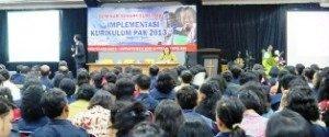 Suasana Seminar Kurikulum PAK 2013