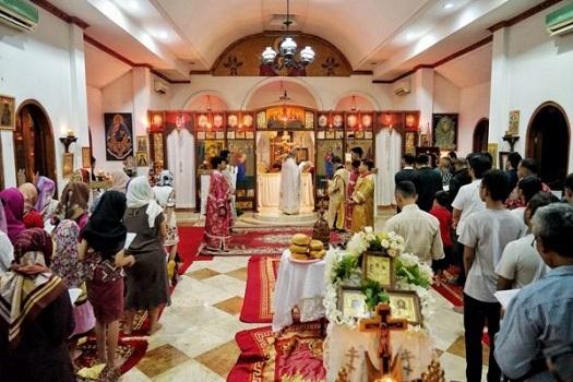 Perayaan Natal Gereja Ortodoks diadakan setiap tanggal 7 Januari