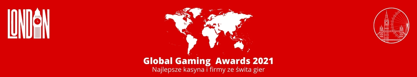 Global Gaming Awards 2021 - London - Najlepsze kasyna i firmy ze świta gier