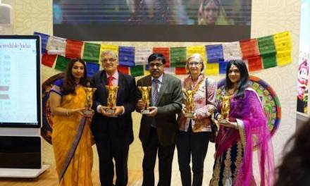 India Bags First Prize At The International 'Golden City Gate Tourism Awards 2019' In 'Tv Cinema Spot' Category At Itb, Berlin