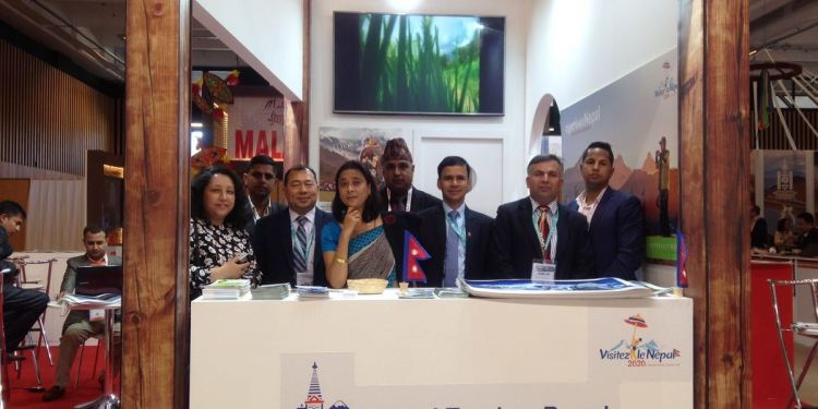 Nepal Promoted In France